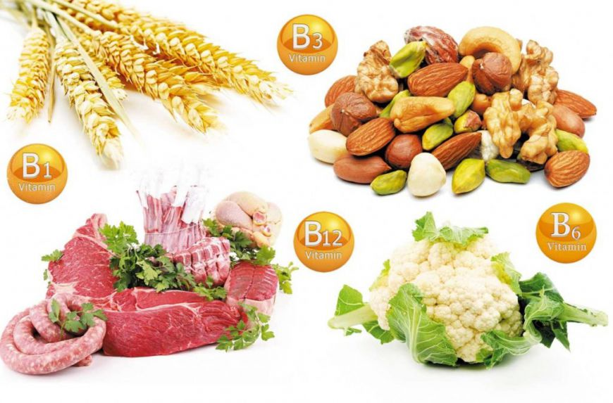 витамины группы B продукты